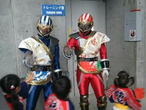 北海道札幌市 少年消防クラブ 子供たちを激励