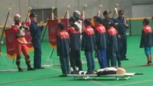北海道札幌市 少年消防クラブ 訓練