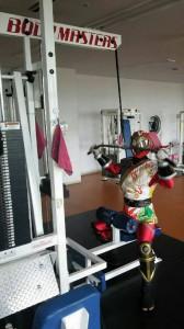 北海道札幌市 少年消防クラブ ソーランドラゴンが筋トレ