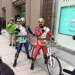 自転車押し歩きキャンペーン開始、札幌スマイルアワード決勝、ガトキンで和芸