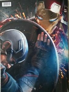 キャプテンアメリカ VS アイアンマン
