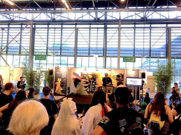 Japan Expo in Paris 異文化コミュニケーション たくさんの人