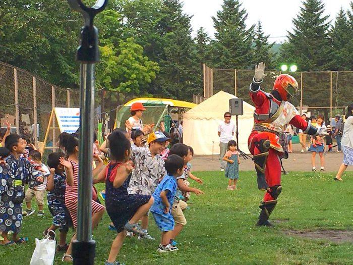 北海道 札幌市 石山夏祭り