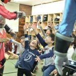 千葉県柏市の学童保育ネクスファで国際協力入門教室