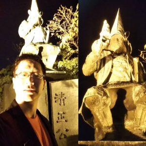 181016熊本 清正像と朋樹