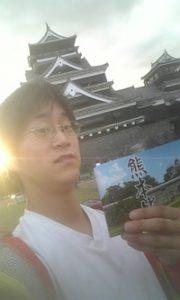100923熊本城と朋樹