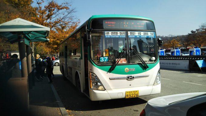 10-5のバス