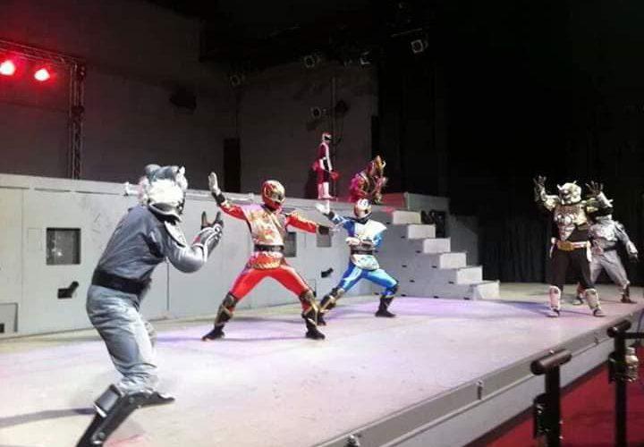 ローカルヒーロー初!ヒーローショーの聖地Gロッソに立ったのは我らがソーランドラゴン達のみ!!