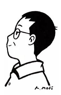 森雅之さん自画像