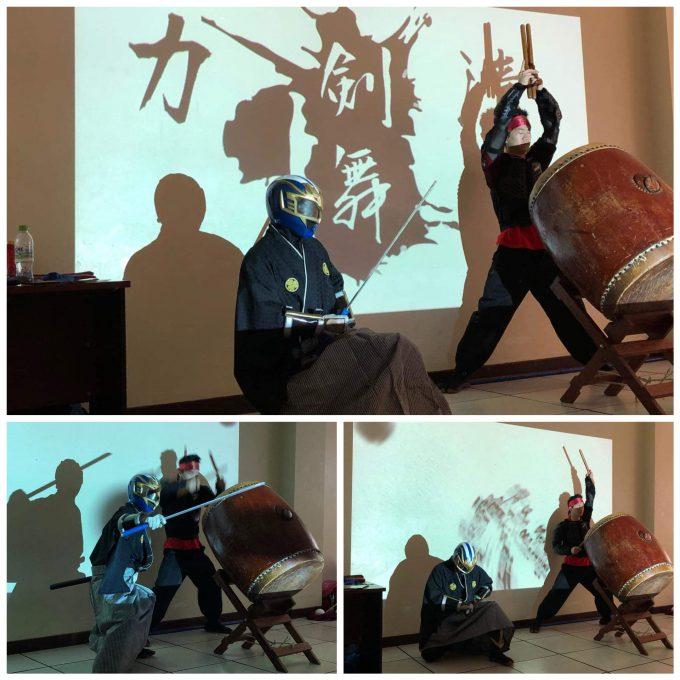祭WS太鼓と剣舞