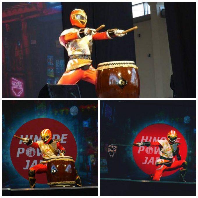 太鼓と剣舞