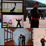 北海道グリーンランドのオープニングに参上!CGショーの術&乱太郎作者に会いたいの術!