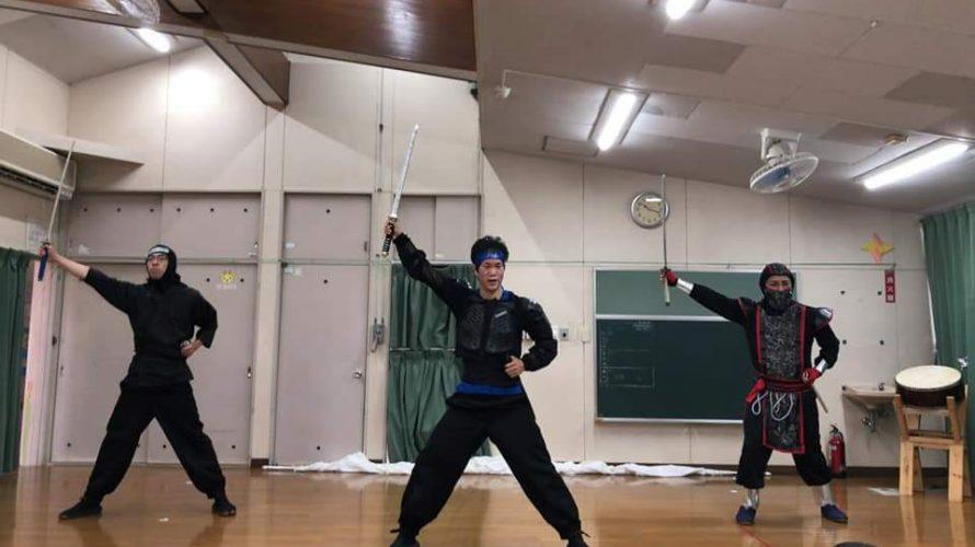 幼稚園で忍者ショーでござった!